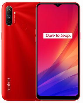 "Realme C3 EU 32GB Red, DualSIM, 6.1"" 720x1560 IPS, Mediatek Helio G70, Octa-Core 2.0GHz, 2GB RAM, microSD (dedicated slot), 12MP+2MP+2/5MP, LED flash, 5000mAh, WiFi-N/BT5.0, LTE, Android 10 (Realme UI)"