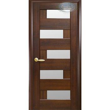 Новый Стиль Дверное полотно Пиана каштан 200х70см