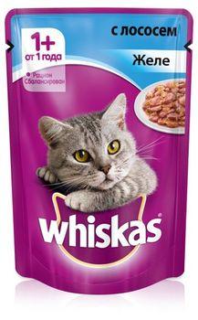 купить Whiskas желе с лососем в Кишинёве
