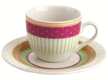 купить Чашка кофейная с блюдцем 75ml Marbella в Кишинёве