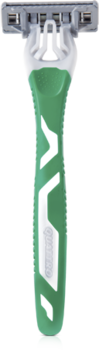 Станок для бритья одноразовый Quattro Titanium Sensitive, 3 шт,  4 лезвия