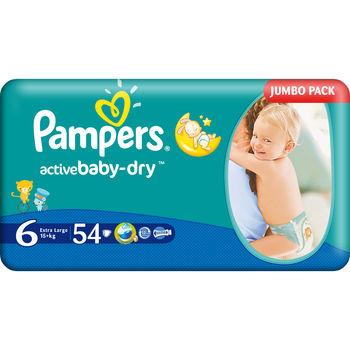PAMPERS JUMBO 6