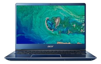 "ACER Swift 3 Stellar Blue (NX.H4EEU.007), 14.0"" IPS FullHD (Intel® Core™ i3-8145U 3.90GHz (Whiskey Lake), 8Gb (2x4) DDR4 RAM, 256Gb SSD, Intel® UHD Graphics 620, CardReader, WiFi-AC/BT, FPR, Backlit KB, 4cell, HD Webcam, RUS, Linux, 1.6kg, 18mm)"