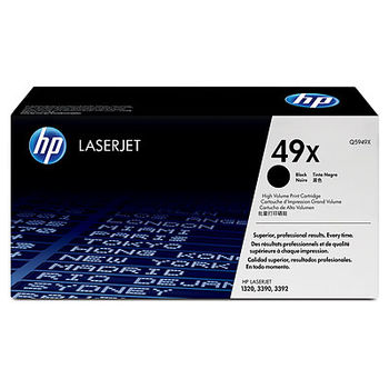 HP Black LaserJet 1320 High Volume Smart Print Cartridge (6000pages) Q5949X