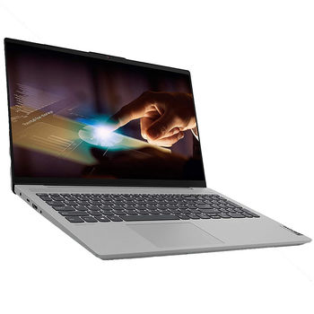 "Laptop 15.6"" Lenovo IdeaPad 5 15ARE05 Platinum Grey, AMD Ryzen 5 4500U 2.3-4.0Ghz/8GB DDR4/SSD 512GB/ AMD Radeon Graphics/WiFi 802.11ac/BT/ HDMI/ USB-C/HD WebCam/15.6"" IPS FullHD LED Non-glare display (1920x1080)/No OS"