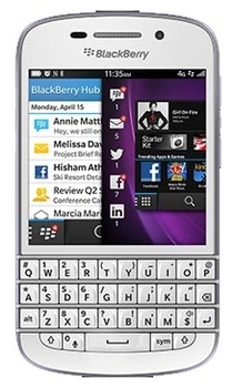 Blackberry Q10, White