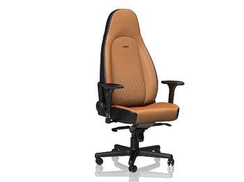 Gaming Chair Noble Icon NBL-ICN-RL-CBK Cognac/Black Real