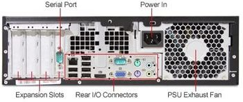 купить HP 8100 SFF, Intel Core i3 550 3.2GHz, 4GB DDR3, 250GB, DVD в Кишинёве