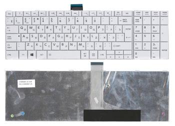 Keyboard Toshiba Satellite C850 C855 C870 C875 L850 L855 L870 L875 P850 P855 P870 P875 ENG/RU White