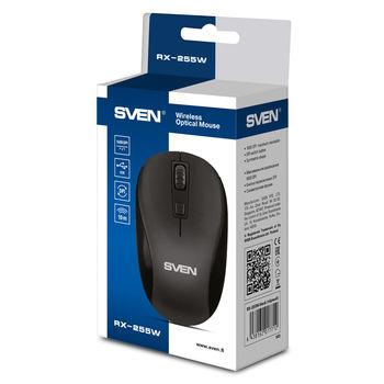 Wireless Mouse Sven RX-255W, Black