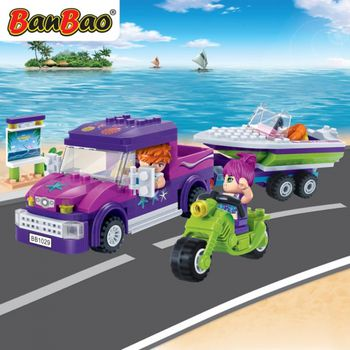 BanBao 6127  trendy beach - 205 blocks