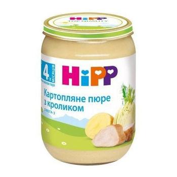 cumpără Hipp 6173 Pireu cartof,fenicul,iepure (4 luni) 190g în Chișinău