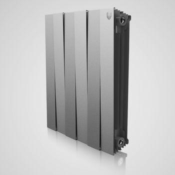 Radiator bimetal Royal Thermo Pianoforte silver 500