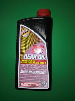 купить Трансмисионное масло Boost Oil DS SAE 75W-80 GL-5 - 1 л в Кишинёве