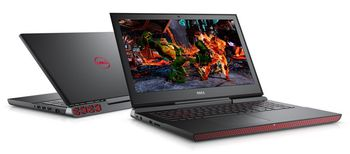 "DELL Inspiron Gaming 15 7000 Black (7577), 15.6"" FullHD (Intel® Quad Core™ i5-7300HQ 2.50-3.50GHz (Kaby Lake), 8Gb DDR4 RAM, 1.0TB, GeForce® GTX1050 4Gb DDR5, CardReader, WiFi-AC/BT4.2, 4cell, HD720p Webcam, Backlit KB, RUS, Ubuntu,  2.65kg )"