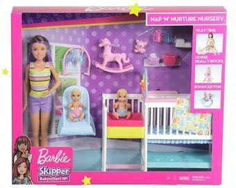 """Набор игровой Barbie """"Скиппер и малыши"""", код GFL38"""