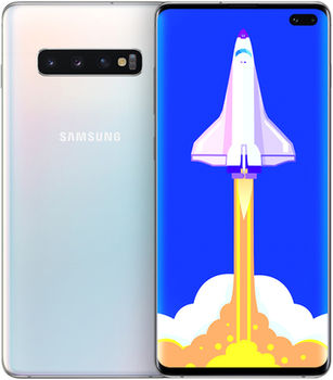 G975 Galaxy S10+ 8/128Gb	White