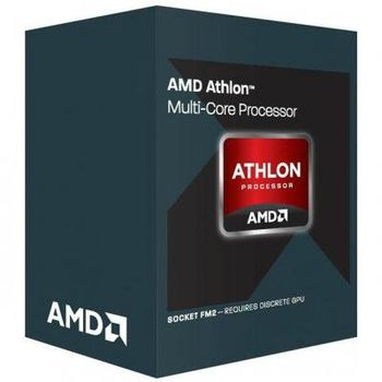 AMD Athlon™ X4 845 Socket FM2+, 3.5-3.8GHz (4C/4T), 2MB L2, without integrated graphics, 65W, 28nm, Box