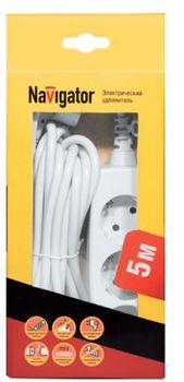 купить удлинители Navigator NPE-03-500-E-Gr 3х1 с/з 3 гн. 5м в Кишинёве