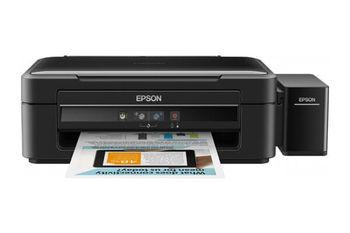 MFD Epson L364 Colour Printer/Scanner/Copier, A4, Print 5760x1440dpi_3pl, Scan 600x1200dpi, ESAT 33/15 ipm,64-255г/м2, 4 Ink Toner T6641Bk, T6642C, T6644Y, T6643M - 70ml (bk-4500/color-7500pag.), USB2.0