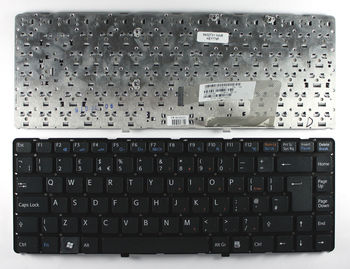 "Keyboard Sony VGN-NW w/o frame ""ENTER""-big ENG/RU Black"