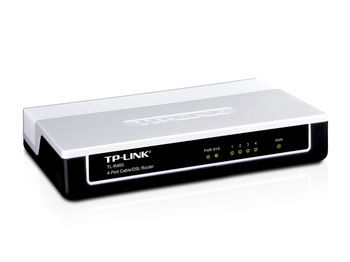 TP-LINK TL-R460, 1 WAN port + 4 LAN ports, Cable/DSL Router for Home and Small Office, Dial-on-demand, Advanced firewall, Parental control, DDNS, UPnP, 802.1X, DHCP, DMZ host, VPN pass-through, IP QoS, support PPPoE, Dynamic IP, Static IP, L2TP, PPTP