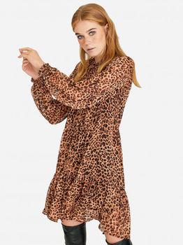 Платье Stradivarius Леопард 6306/654/450