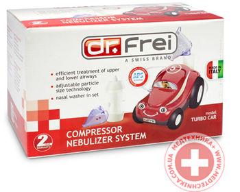 купить Компрессорный небулайзер Dr.Frei Turbo Car в Кишинёве