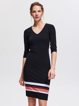 Платье RESERVED Чёрный vf764-99x