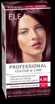 Краска для волос,SOLVEX Elea, 138 мл., 4.56 - Фиолетовый махагон