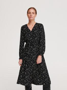 Платье RESERVED Чёрный yj810-99x