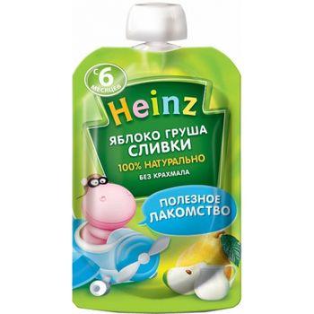cumpără Heinz piure din mere și pere cu frișcă 6+ luni, 90g în Chișinău
