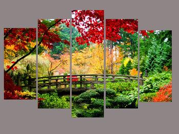 Картина напечатанная на холсте - Триптих Природа 0003