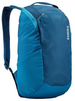 "13"" NB Backpack - THULE EnRoute 14L, Poseidon, Safe-zone, 840D nylon, 330D nylon mini ripstop, Dimensions: 27 x 20 x 44 cm, Weight 0.73 kg, Volume 14L"