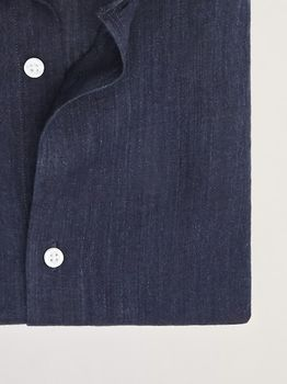 Рубашка Massimo Dutti Темно синий 0146/146/400