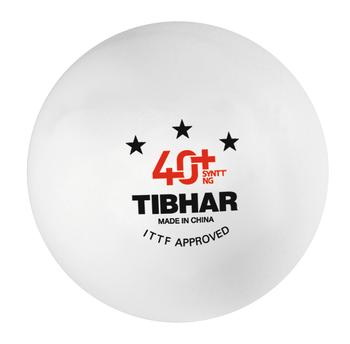 Мяч для настольного тенниса Tibhar 3*** 40+ SYNTT NG ITTF aproved (876)