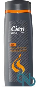 купить Шампунь и Гель для душа 2 в 1 Cien Tropical Blast  для мужчин в Кишинёве