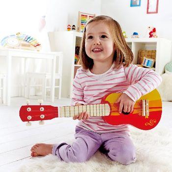купить Hape Музыкальная игрушка Kрасная Гитара в Кишинёве