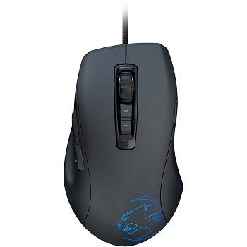 ROCCAT Kone Pure / Core Performance Gaming Mouse, up to 8200pi, 7 programmable buttons, Pro-Aim (R3) Laser sensor, 16.8M Multi-color illumination, ARM MCU+ onboard memory, Tracking & Distance control unit, EASY-SHIFT[+]™, USB