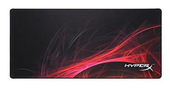 KINGSTON HyperX FURY S Speed Edition Gaming Mouse Pad Extra Large from Kingston, Natural Rubber, Size 900mm x 420mm x 3.5 mm, Seamless, Stitched edges, Densely woven surface for accurate optical tracking, Compatible with optical or laser mice, Black