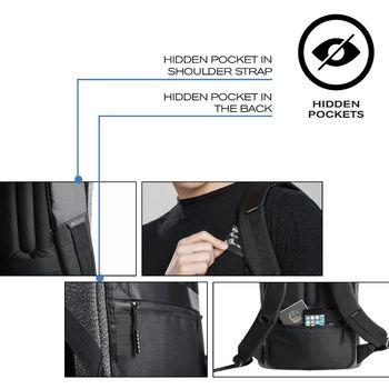 """15.6"""" Рюкзак для ноутбука Bobby Urban Lite P705.505, Navy Blue"""
