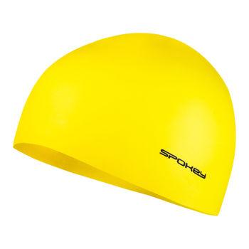купить Шапочка для плавания Spokey Summer Cup Yellow, 85345 в Кишинёве