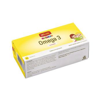 cumpără Bioland Junior Omega 3 caps. moi N30 (p/u copii de la 3ani) în Chișinău