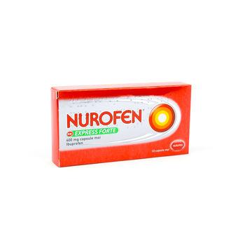 cumpără Nurofen Express Forte 400mg caps. moi N10 în Chișinău