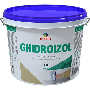 Supraten Грунтовка гидроизоляционная Ghidroizol 14кг