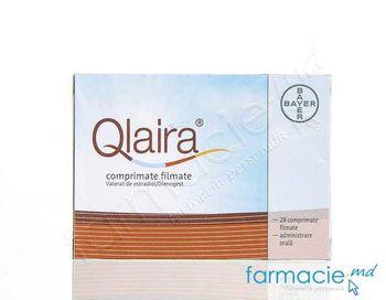 купить Qlaira® comp. film. 3 mg; 2 mg + 2 mg; 2 mg + 3 mg; 1 mg  N28 в Кишинёве