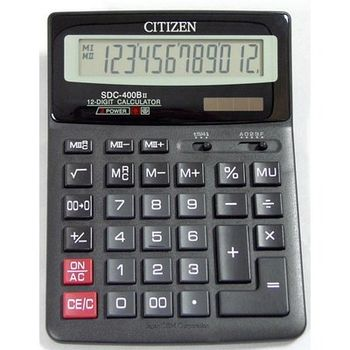 Calculator Citizen SDC-400