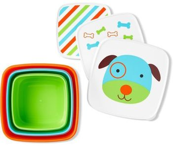 Набор контейнеров Skip Hop Zoo Собачка (3 шт)