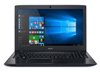 """ACER Aspire E5-575G Obsidian Black (NX.GDZEU.043) 15.6"""" FullHD (Intel® Core™ i5-7200U 2.50-3.10GHz (Kaby Lake), 16Gb DDR4 RAM, 2.0TB HDD, GeForce® GTX950 2Gb DDR5, DVDRW, CardReader, WiFi-AC/BT, 6cell, 720P HD Webcam, RUS, Linux, 2.4kg)"""