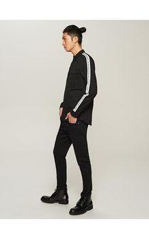 Рубашка RESERVED Чёрный rr685-99x